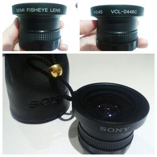 Ojo de pez Sony VCL 0446C