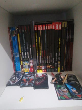 Comics Marvel y DC