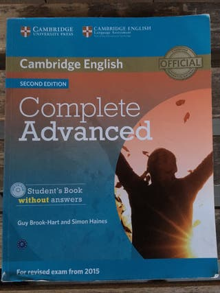 Libro inglés Complete Advanced Student Book
