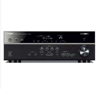 Yamaha RX-V475 - Amplificador