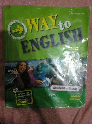 libro inglés 2n de la ESO
