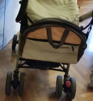 silla paseo; capazo, capota, grupo-0 y bolsa