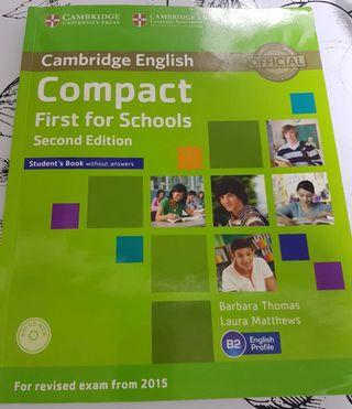 Libro de Inglés (Compact First for Schools)