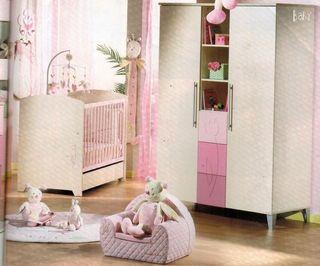 Habitación infantil niña Sauthon