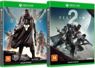 destiny 1 + 2 (forsaken) Xbox one