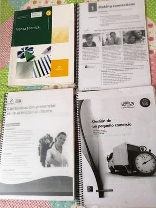 libros de actividades comerciales