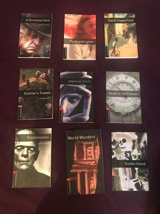 Libros de lectura en Inglés. Novelas Inglés