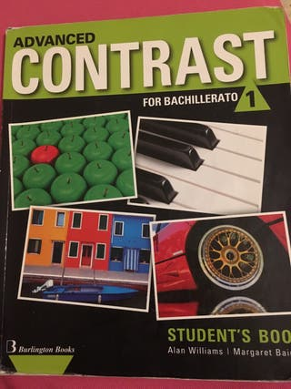 Libro Inglés Advanced Contrast 1º Bachillerato