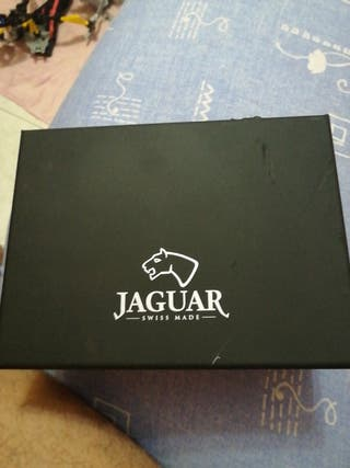estuche de reloj jaguar