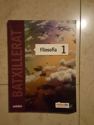 Libro Edebé Filosofia 1o Bachillerato