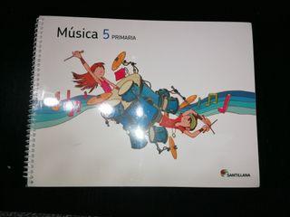 Libro Música 5°Primaria