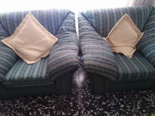 Un sofá y dos sillones x 190€