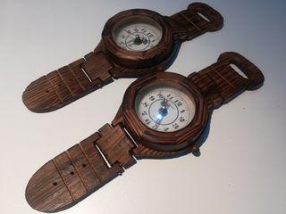Reloj madera ¡¡¡URGE!!!