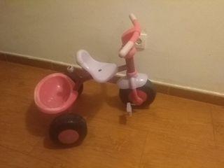 treciclo rosa infantil
