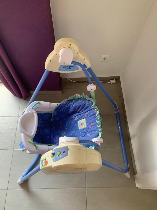 Balancín-columpio bebé