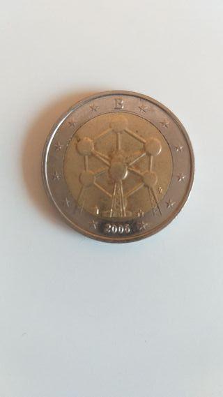 Moneda 2 euros Bélgica Atomiun 2006