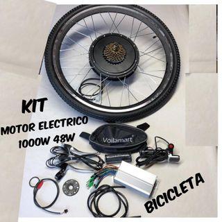 """Motor rueda 26"""" electrico trasera de 48v 1000w"""