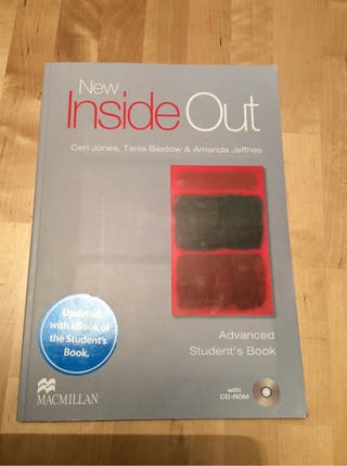 Libro inglés New Inside Out Advanced