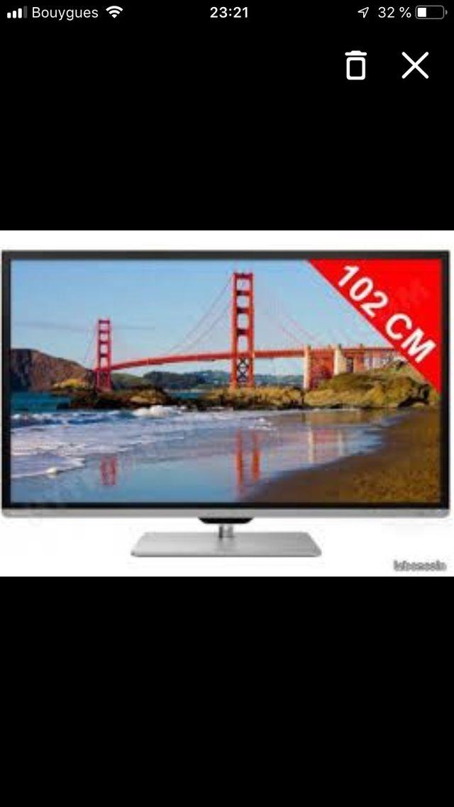 Smart TV 3D TOSHIBA / TV connectée et 3D