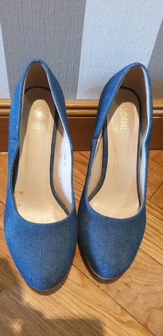 Zapatos azules talla 37