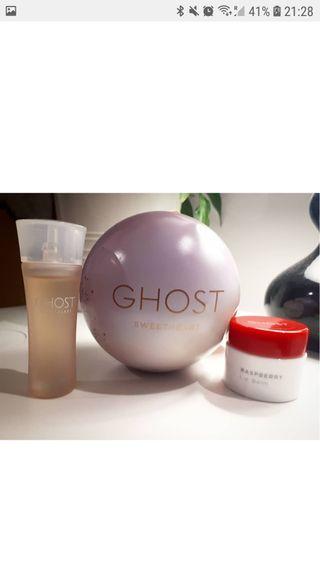 Ghost Miniatura Perfume Sweetheart y labial