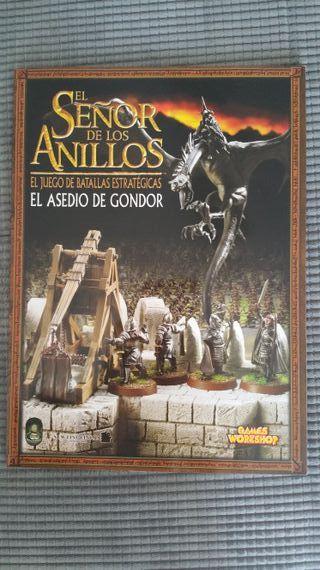 El asedio de gondor señor de los anillos