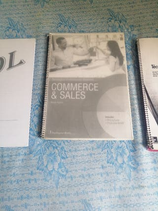 Libros primero grado medio comercio y marketing
