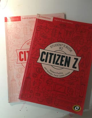 Libro escolar de inglés Citen Z nivel B2