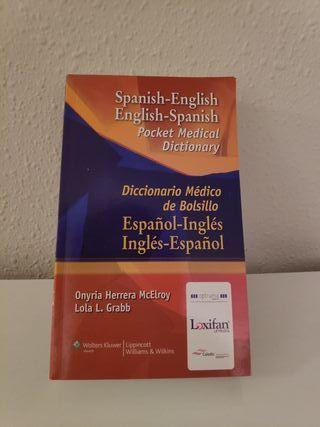 Diccionario médico ingles/español