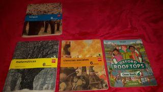 Libros de 6 de primaria