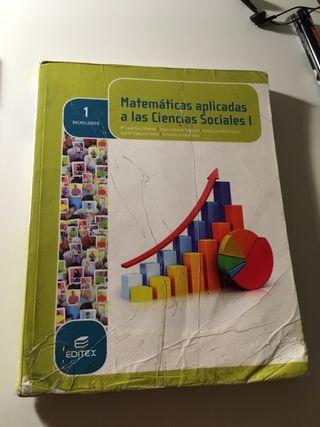 Libro Matemáticas 1* bachillerato