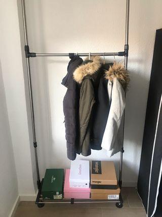Burro de ropa o perchero