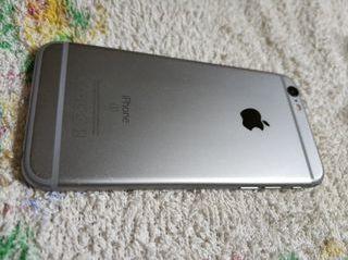 iPhone 6s negro, chasis