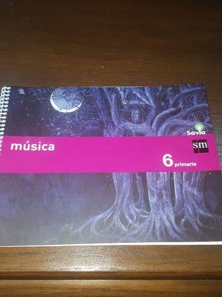 libro de musica 6 primaria