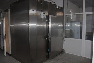 Cámara frigórigica de acero Inox.
