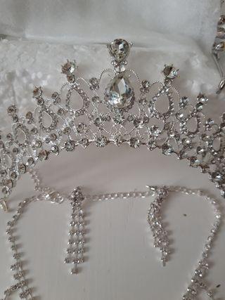 precioso conjunto de novia