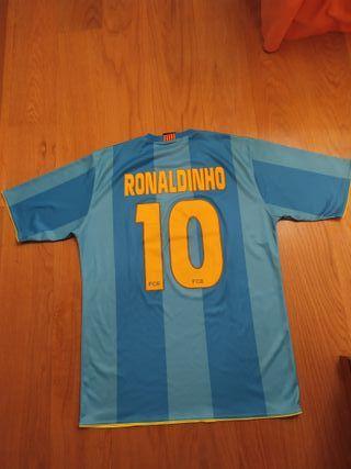 Camiseta Barca Ronaldinho
