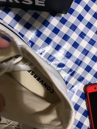Zapatillas Converse de segunda mano en Tomares en WALLAPOP