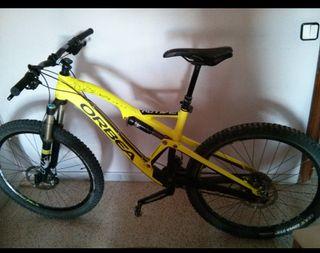 Bicicleta Orbea Rallon X30 27'5 con extras tija te