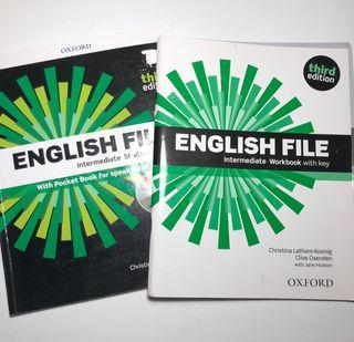 Libro inglés Escuela oficial idiomas B1/B1+