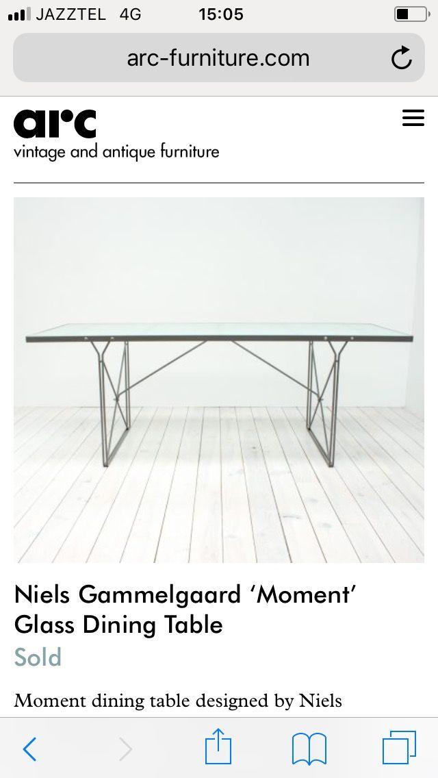 Mesa de diseño Niels Gammelgaard