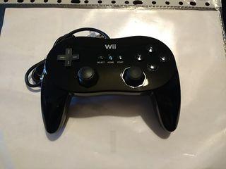 Mando oficial Nintendo Wii negro