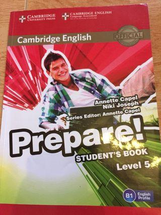 Libro de inglés cambrige nivel 5