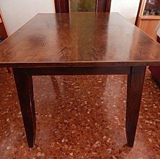 Mesa para salón 130x91x74 y 4 sillas