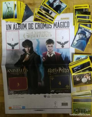Harry Potter los crímenes de Grindelwald