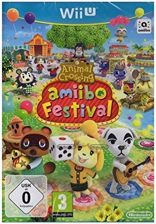 Animal Crossing Amiibo Festival para wii U