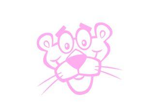 Pegatina Pantera Rosa vinilos adhesivos decorativo