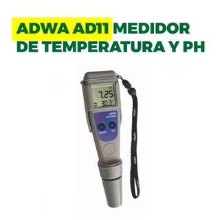Medidor pH sumergible Adwa