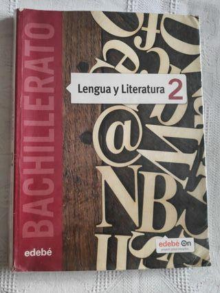 Libro lengua y literatura 2 bachillerato, edebe