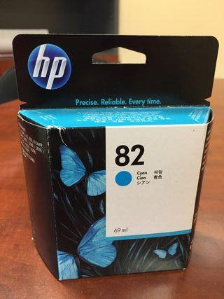 Cartucho HP Original 82 Cyan / Azul